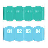 Web banners in numbers.Eps.Vector Stock Photos