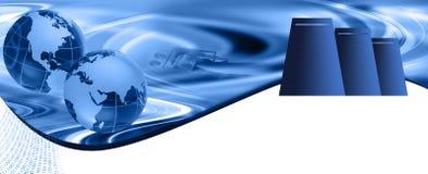 Web-Bewirtungs-Vorsatz Lizenzfreie Stockfotos