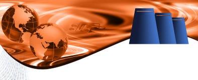 Web-Bewirtungs-Vorsatz Lizenzfreies Stockbild