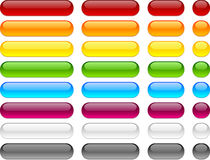 Web Blank Buttons. Stock Image