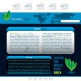 Web blu illustrazione di stock