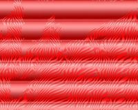 Bright - Red texture of horizontal stripes on a dark - red background. vector illustration