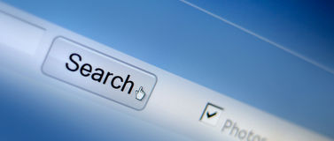 Web browser Stock Image