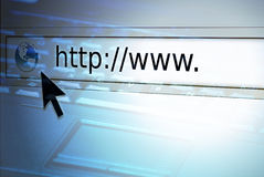 Web browser Lizenzfreie Stockbilder
