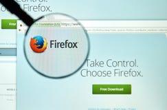 Web browser de Firefox imagens de stock royalty free
