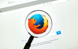 Web browser de Firefox Photographie stock libre de droits