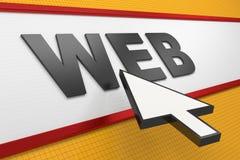 Web browser del Internet libre illustration