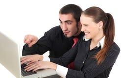Web browsing Stock Image