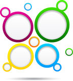 Web bubble background. Stock Photos