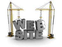 Web building Royalty Free Stock Image
