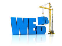 Web building Royalty Free Stock Photos