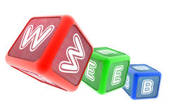 WEB Building Blocks Stock Image