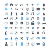 Web and Business Icons Royalty Free Stock Photography