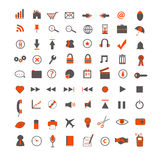 Web and Business Icons Royalty Free Stock Image
