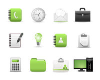 Web Business Icons Royalty Free Stock Images