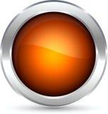 Web button. Web shiny button. Vector illustration Stock Image