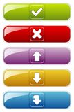 Web Button stock illustration