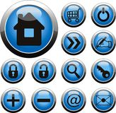 web button Royalty Free Stock Image