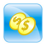 Web button Stock Photography