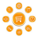Web button-buy royalty free stock image
