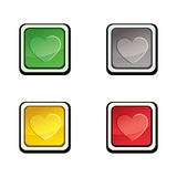 WEB BUTTON Royalty Free Stock Photo