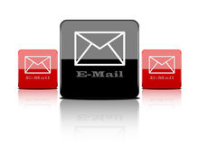 Web button-email Stock Photos