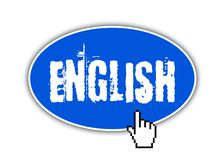 Web button - english Stock Images