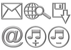 Web button icons are ready Royalty Free Stock Photo