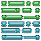 Web Button Set Stock Photos
