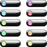 Web buttons. For your site. Web elements Royalty Free Stock Photos