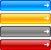 Web buttons. Stock Images