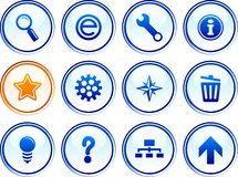 Web  buttons. Stock Photography