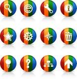 Web  buttons. Stock Photos