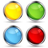 Web buttons Stock Images