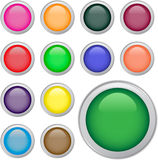 Web buttons Stock Image
