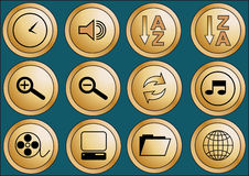 Web buttons 2 Stock Photos