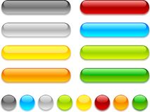 Web buttons. royalty free illustration