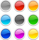 Web buttons. Stock Image