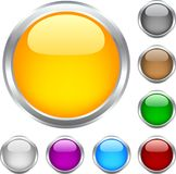 Web buttons. stock illustration