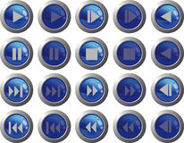 Web buttons Royalty Free Stock Photography