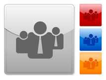Web buttons business tem Stock Images