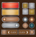 Web Buttons Stock Photo