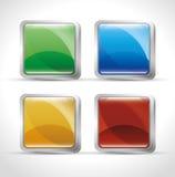 web buttons design Royalty Free Stock Photos