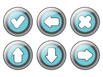 Web buttons design Royalty Free Stock Image