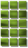 Web Buttons glossy- set Royalty Free Stock Photography