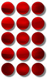 Web Buttons glossy- set Stock Photos