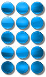 Web Buttons glossy- set Royalty Free Stock Photo