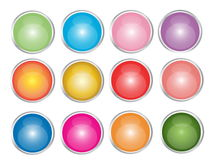 Web Buttons illustration stock image