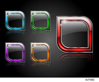 Web buttons pack Royalty Free Stock Image
