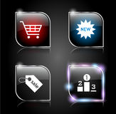 Web buttons pack Stock Images